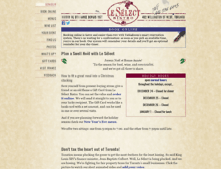 leselect.com screenshot