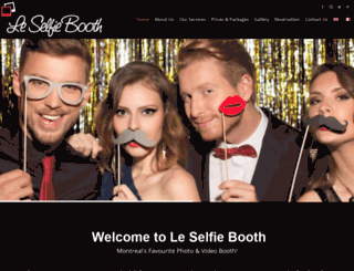 leselfiebooth.com screenshot