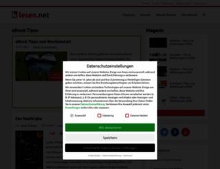 lesen.net screenshot