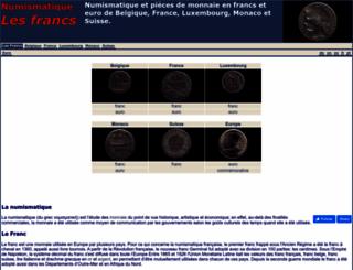 lesfrancs.com screenshot
