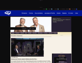 lesfrancstireurs.telequebec.tv screenshot