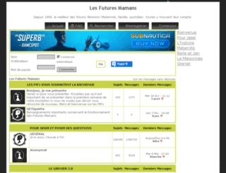 lesfuturesmamans.bb-fr.com screenshot