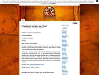 leshanti.unblog.fr screenshot