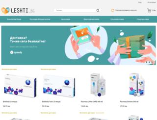leshti.bg screenshot