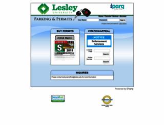 lesley.thepermitstore.com screenshot