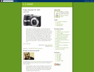 lesliesrussell.blogspot.fr screenshot