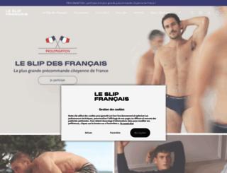 leslipfrancais.fr screenshot