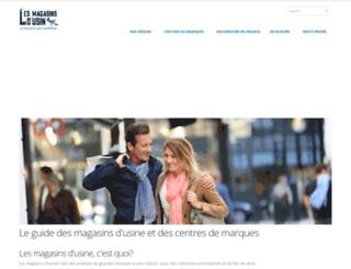 lesmagasinsdusine.com screenshot