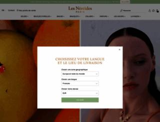 lesnereides.com screenshot