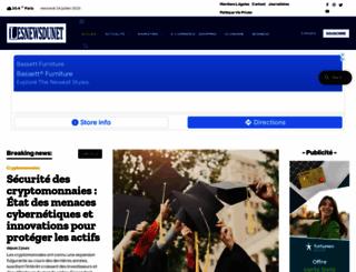 lesnewsdunet.com screenshot