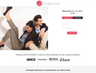 lesoffresmode.com screenshot
