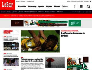 lesoirdalgerie.com screenshot