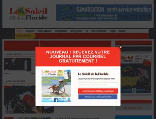 lesoleildelafloride.com screenshot