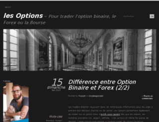 lesoptions.wordpress.com screenshot
