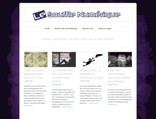 lesoufflenumerique.wordpress.com screenshot