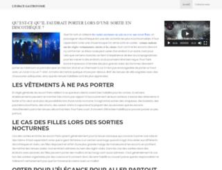 lespacegastronome.com screenshot