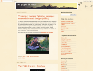 lespagesdenomic.blogspot.com screenshot