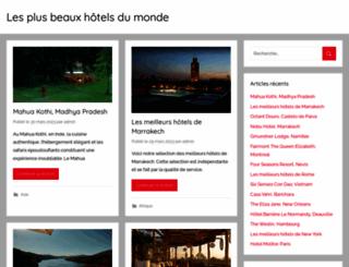 lesplusbeauxhotelsdumonde.com screenshot