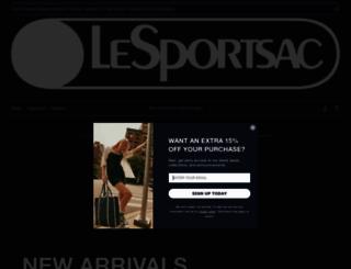 lesportsac.com screenshot