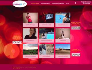 lesproductions-nadinelemieux.com screenshot