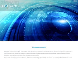 lesquadrants.com screenshot