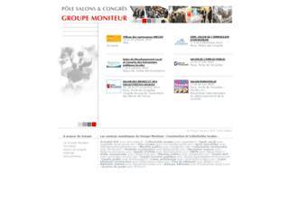 lessalons.groupemoniteur.fr screenshot