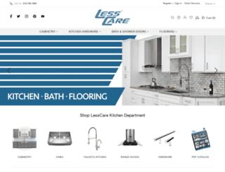 lesscare.com screenshot