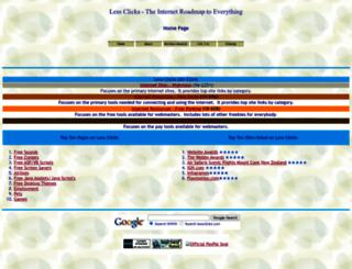 lessclicks.com screenshot