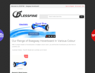 lessfine.com screenshot