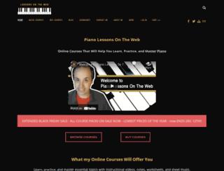 lessonsontheweb.com screenshot