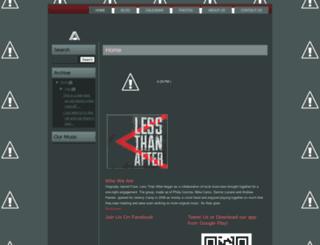 lessthanafter.blogspot.com screenshot