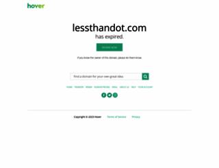 lessthandot.com screenshot