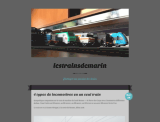 lestrainsdemarin.wordpress.com screenshot