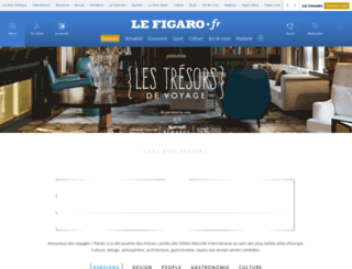 lestresorsdevoyage.lefigaro.fr screenshot