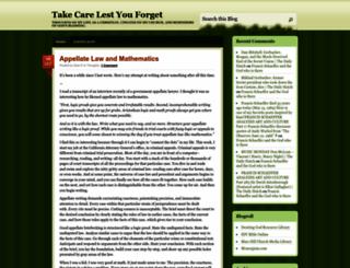 lestyouforget.wordpress.com screenshot