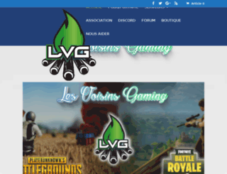 lesvoisinsgaming.com screenshot