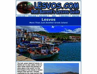 lesvos.com screenshot