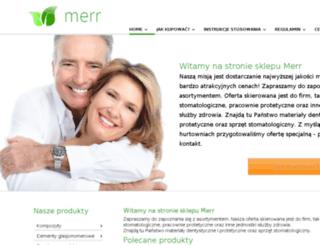 leszno.merr.com.pl screenshot