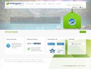 letalske-karte.bookingpoint.net screenshot
