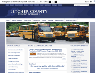 letcher.kyschools.us screenshot
