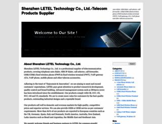 letel.wordpress.com screenshot