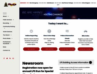 lethbridgepolice.ca screenshot