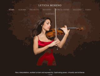 leticiamoreno.com screenshot