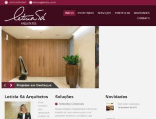leticiasa.com.br screenshot