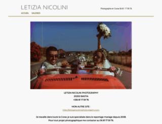 letizia-nicolini.book.fr screenshot