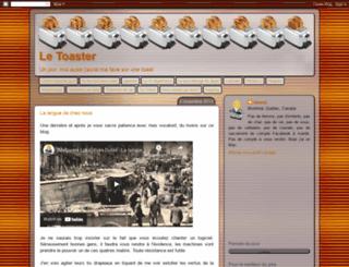 letoaster.blogspot.com screenshot