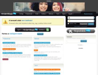 letoltesvilag.mlap.hu screenshot
