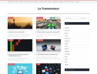 letransmuteur.net screenshot