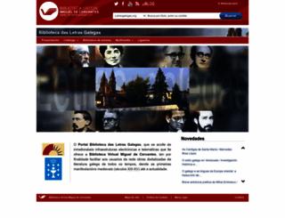 letrasgalegas.org screenshot