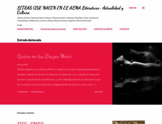 letrasinspiradas.blogspot.com screenshot